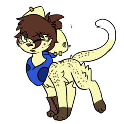 Pirate cat for sale!