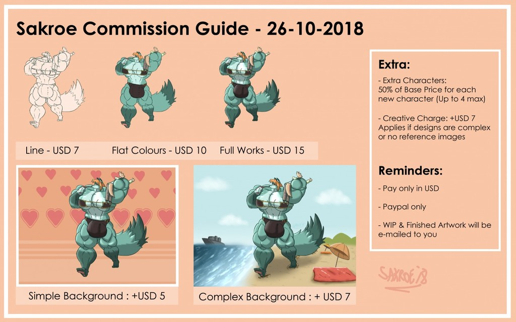 Most recent image: commission guide - 27-10-2018