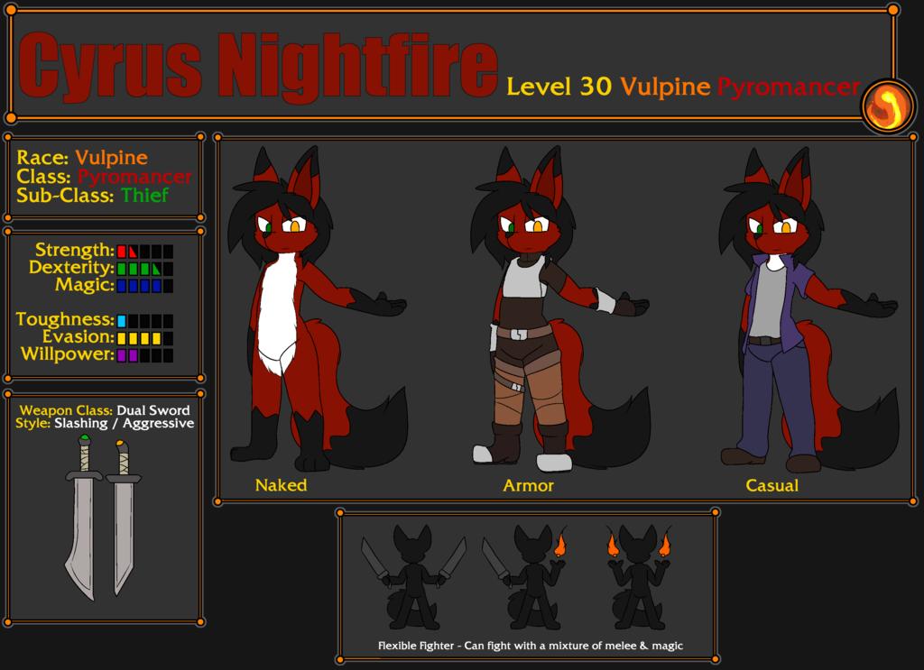 Cyrus Nightfire - Reference [2019]