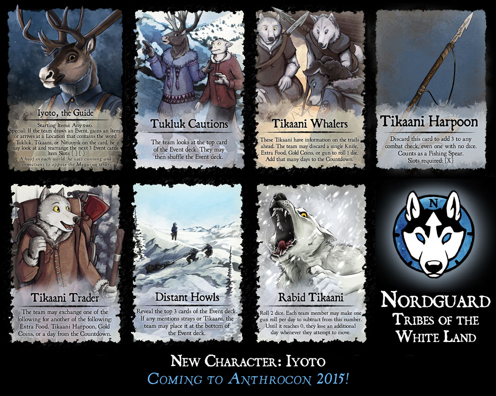 Nordguard: Tribes of the White Lands - Iyoto Preview