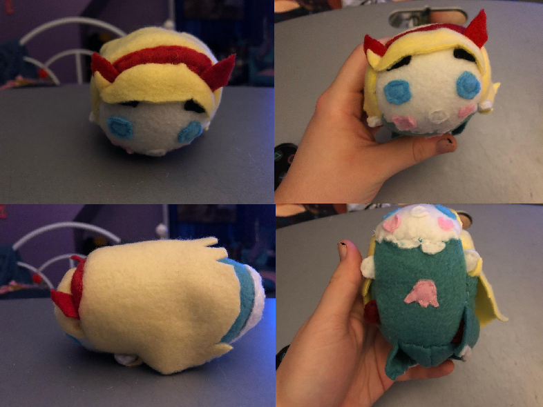 Most recent image: Disney Star Vs The Forces of Evil Star Stackable Tsum Plush For Sale