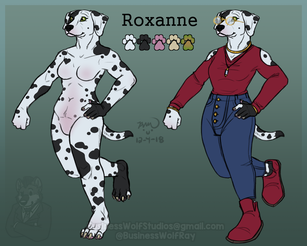 Character for Sale: Roxanne [$60]