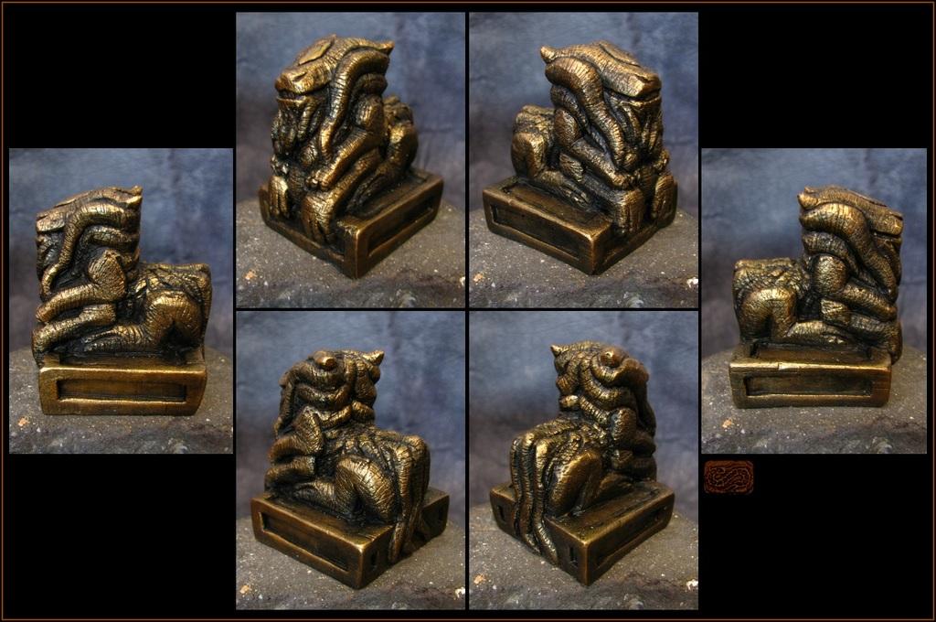 Featured image: gorgon dragon idol