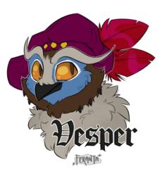 Vesper's Badge, number 2