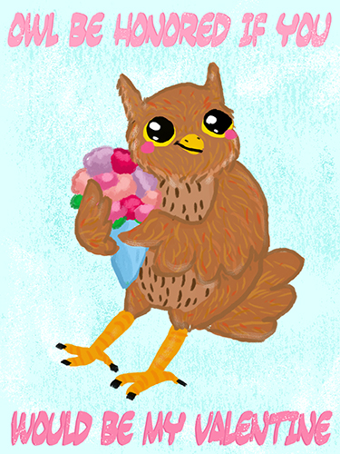 Most recent image: Owl Be Honored
