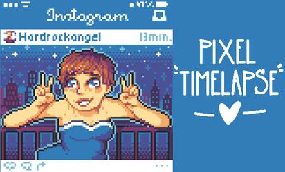 Pixel Timelapse - Insta-icon