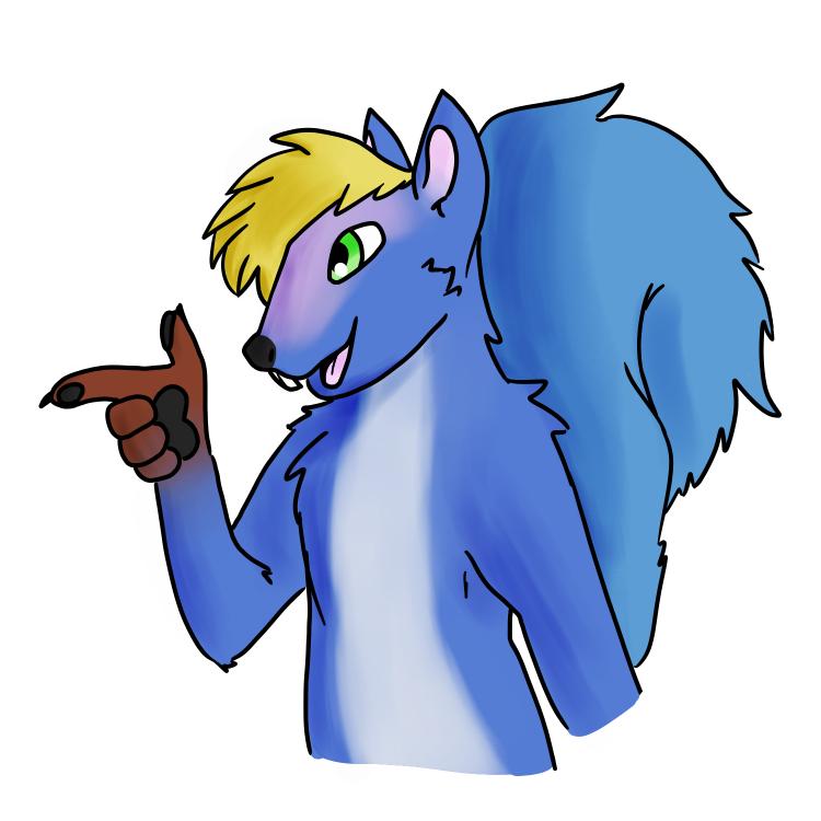 Trevor Blue Squirrel 11