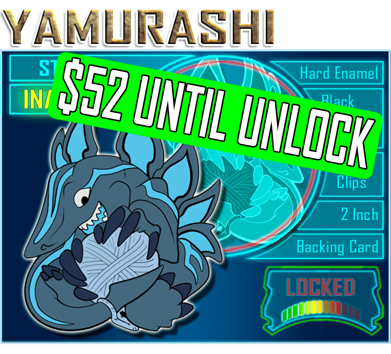 $52 to unlock Yamurashi!