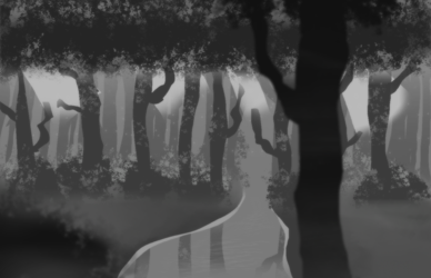 Grayscale Background Practice 1