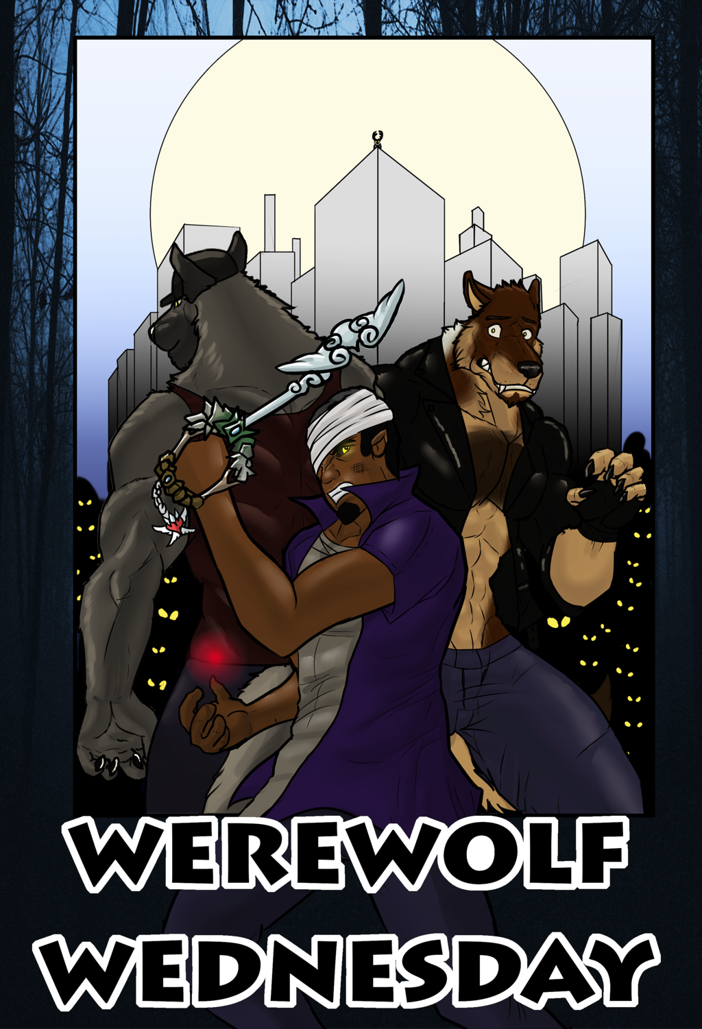 Werewolf Wednesday chapter 2 cover