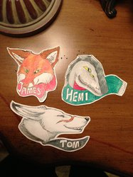 Christmas Badges (1)