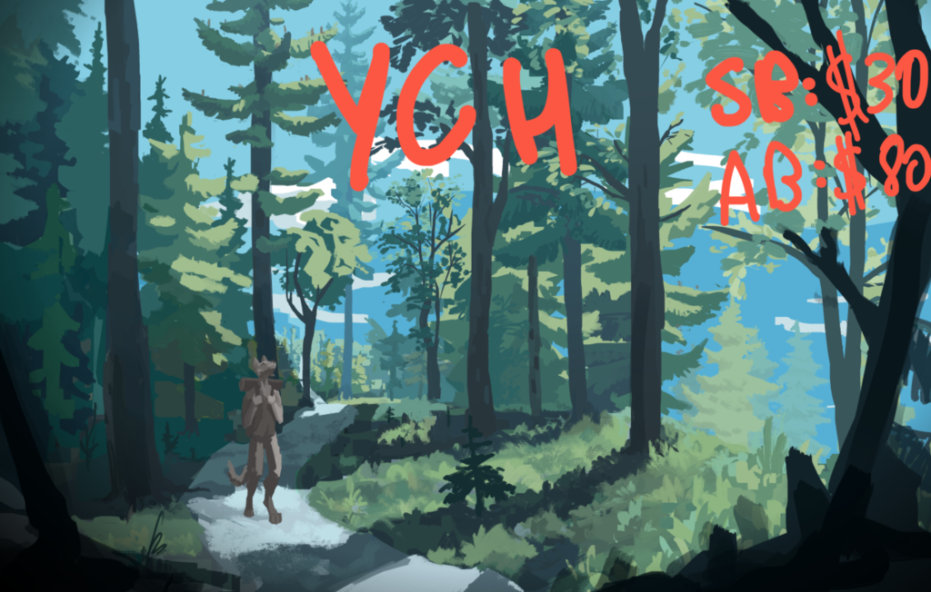 Be here now [YCH]