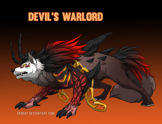 [Adoptable] Devil's Warlord (Sold)