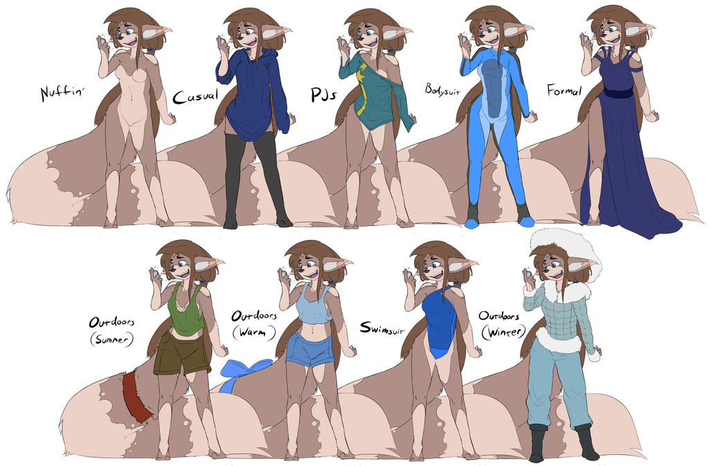 The Outfits of Aura