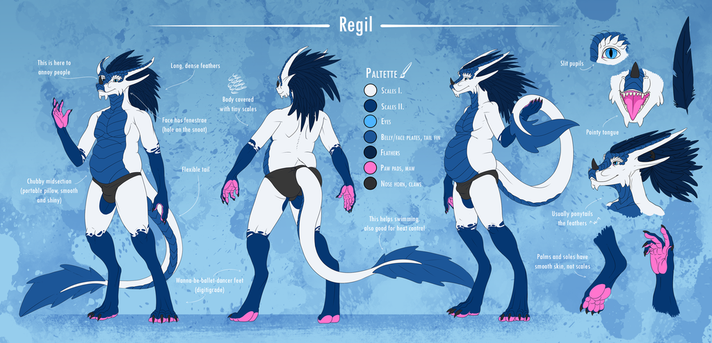 Most recent image: Regil Ref Sheet 2019