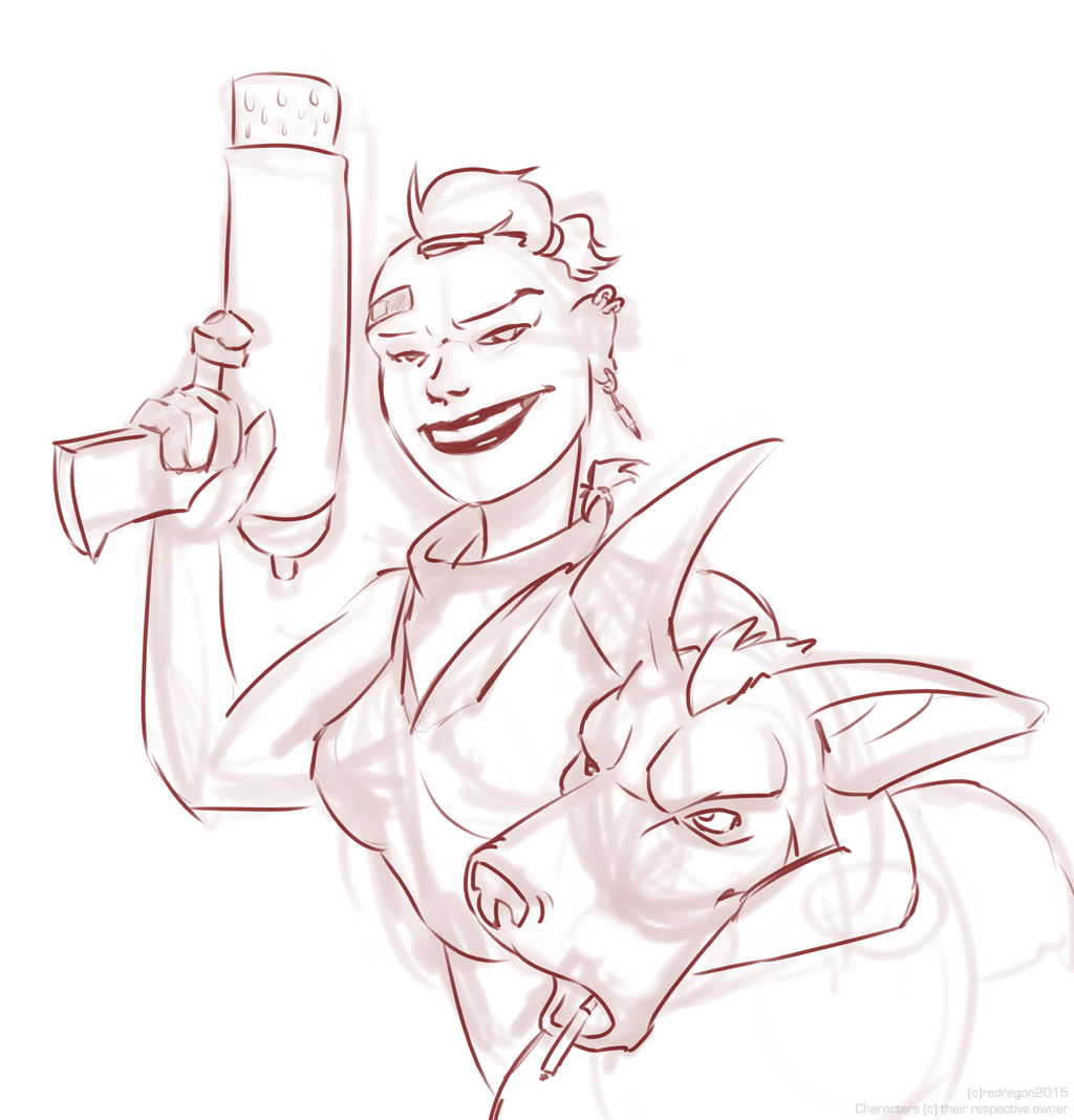 Sketch - Tankie and Booga.