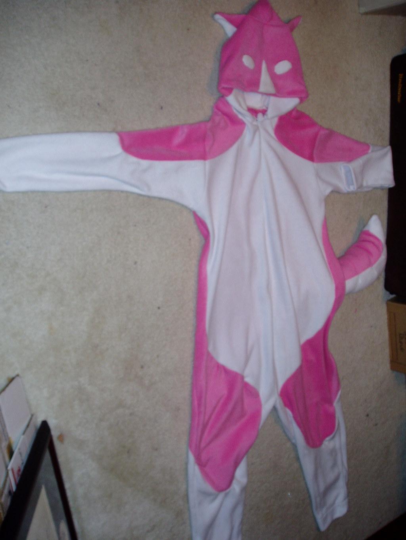 Pink Husky Pajamas