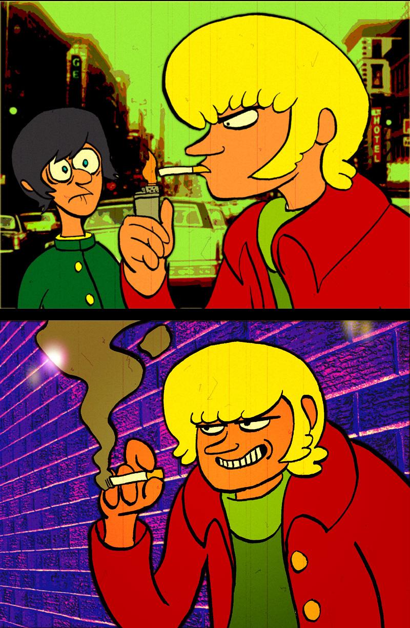 """Devilman"" Fake Screenshots"