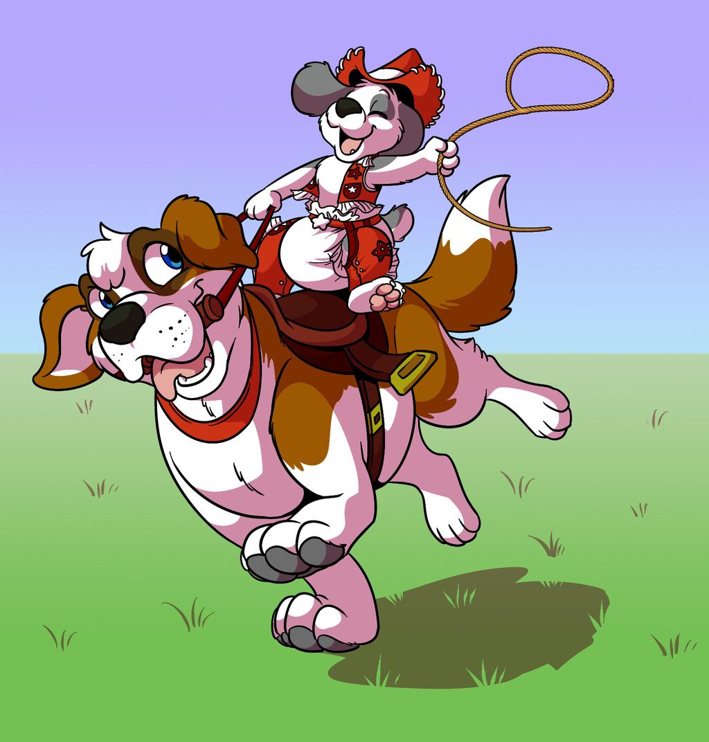Get Along Little Doggies by Tato