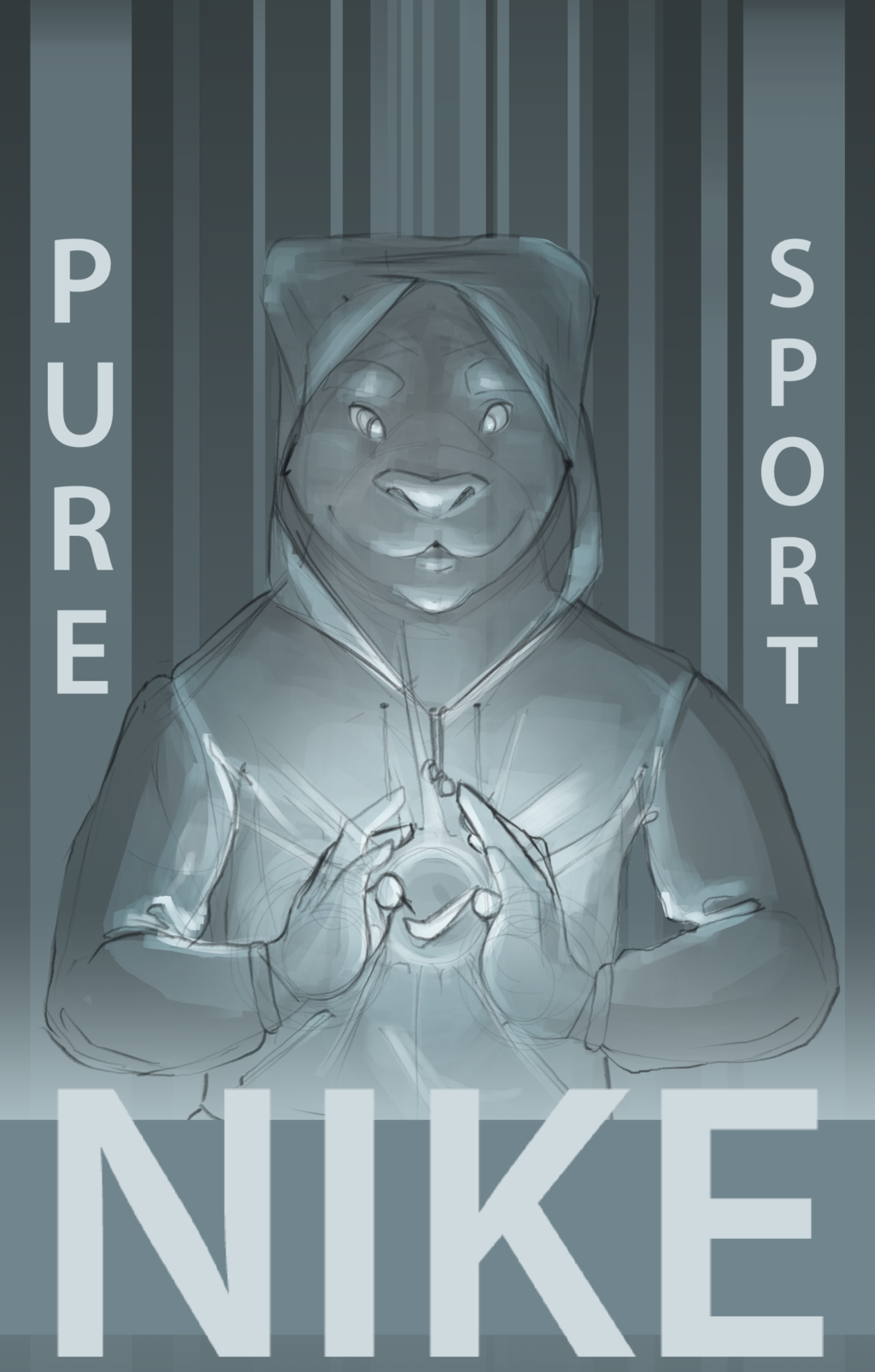 Featured image: Pure sport nike sketch
