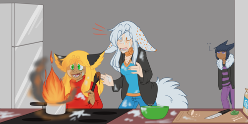 Don't Let her cook