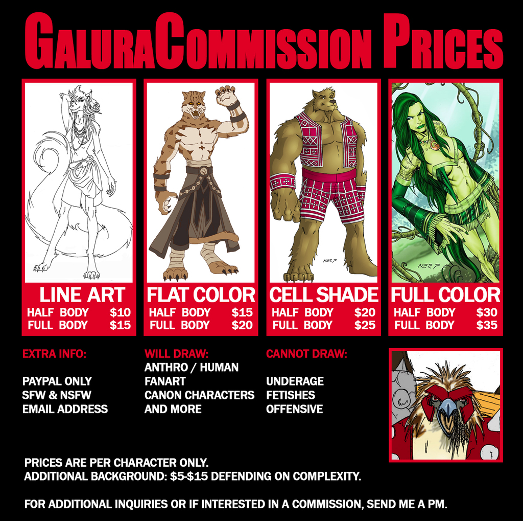 Now Open for Commissions