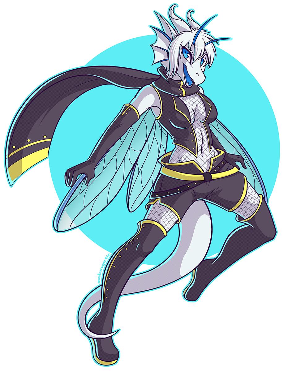 Wing-it by Melangetic
