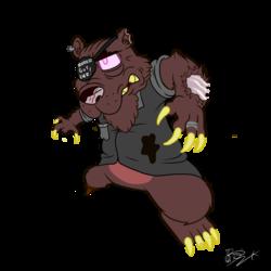 Carl the SUPER BAD Bear