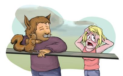 (Pre-)TF Couple: Embarrassing Dad