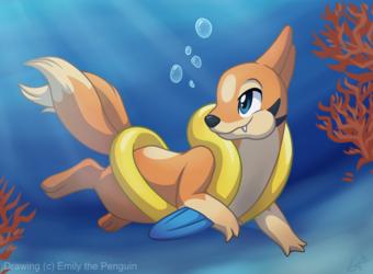 Floatzel used Dive