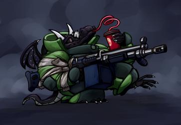 Kobold with Gun #1,457