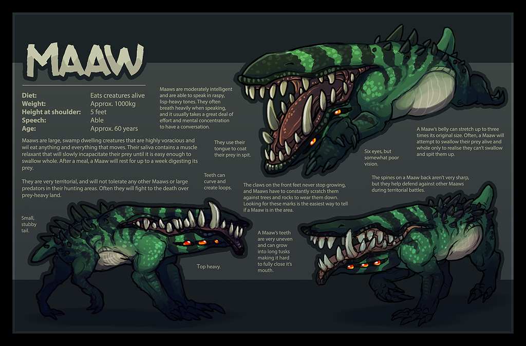 Maaw - Species Information