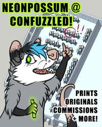 Neonpossum @ Confuzzled!