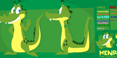 Henry The Alligator (REFS)