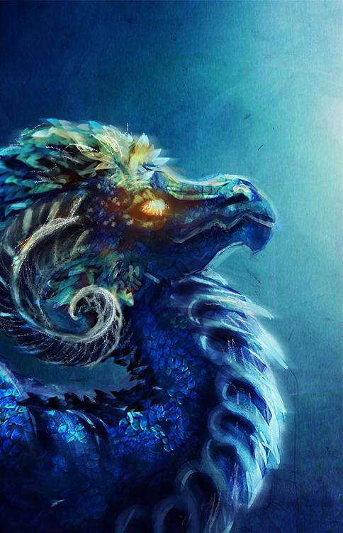 Most recent image: Blue Dragon Speedpaint