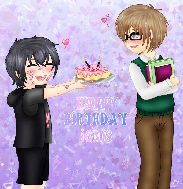 Happy Birthday Ignis