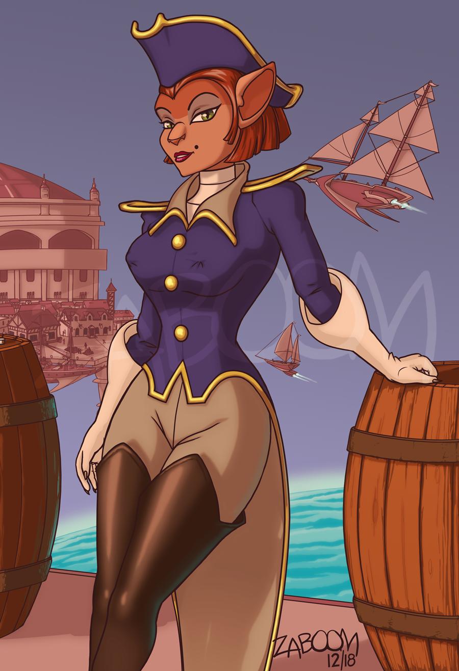 Captain Amelia Dockside