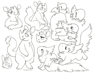 critters for short