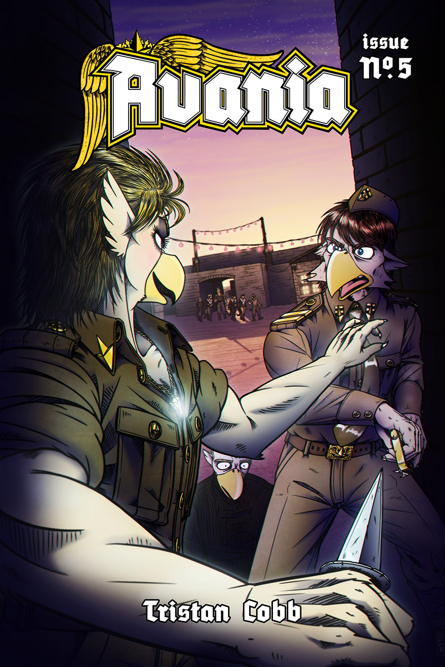 Avania Comic - Issue No.5, Front Cover