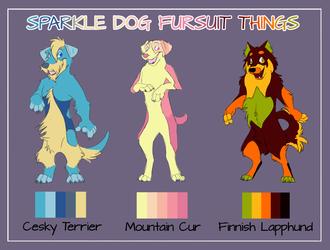 Sparkly Fursuit Concepts