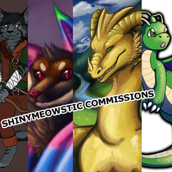 -COMMISSIONS OPEN-