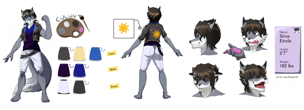 Sirus Reference Sheet    Commissioned by sirus