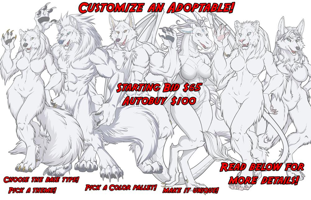 Custom Adoptable Auction ! SB $65