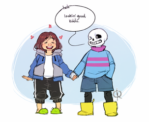 Undertale: Outfit swap #1
