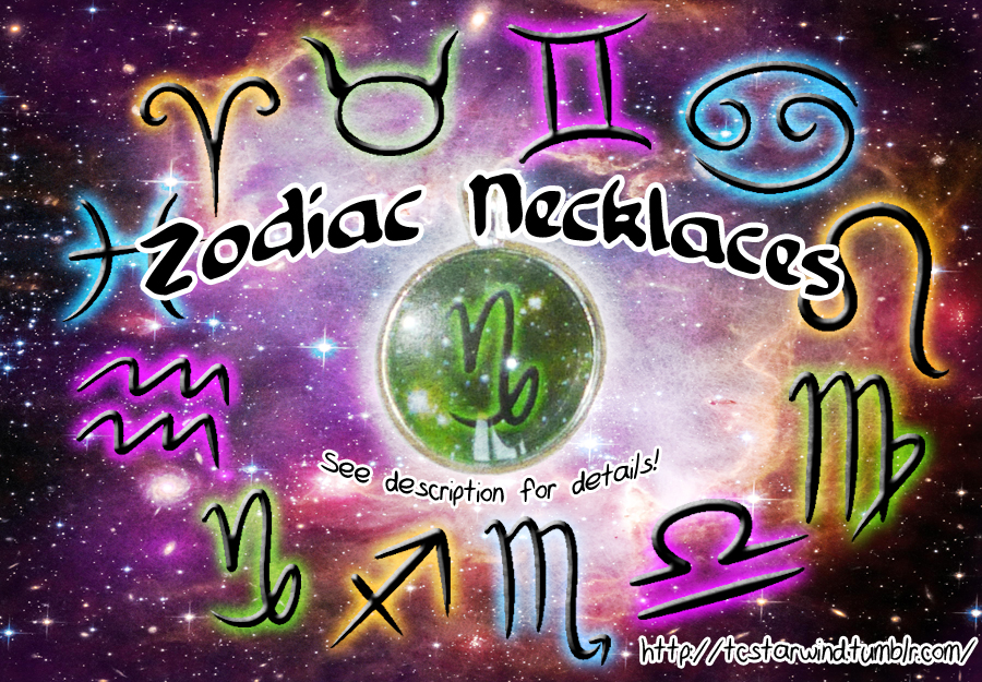 Zodiac Necklaces For Sale