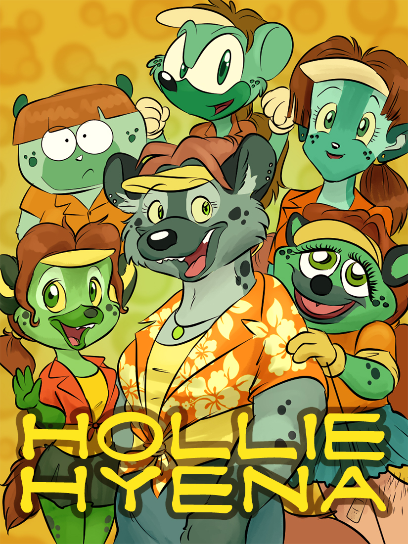 Hollie Hyena Multistyle Badge