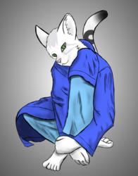 Artemis sitting patiently