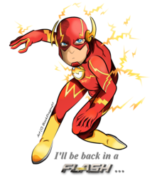 Back in a Flash ...