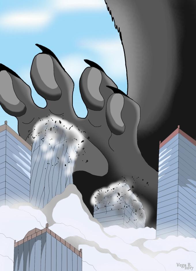 Paw of destruction