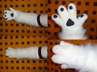 Part- Suit (Handpaw's + Arm warmers) 3/4